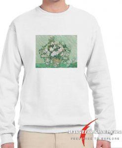 Vincent van Gogh Roses comfort Sweatshirt