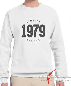 Vintage 1979 Limited Edition comfort Sweatshirt