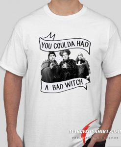 You Coulda Had A Bad Witch comfort T Shirt