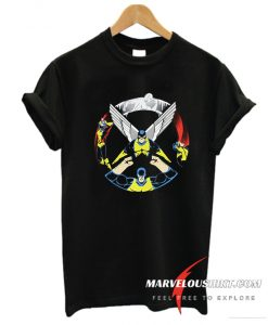 Original X-Men Characters X Logo T-Shirt