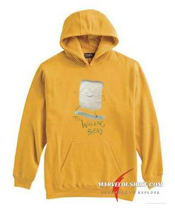 The Walking Bread Funny comfort Hoodie