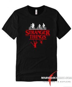 Stranger Things Bike Rides comfort T-shirt