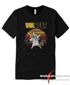 Unicorn dabbing Volbeat retro comfort T-shirt