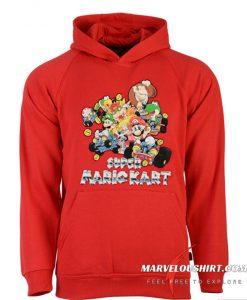 super mario kart comfort hoodie