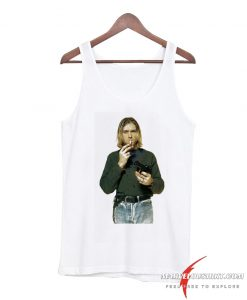 kurt cobain smoking gun Tank Top