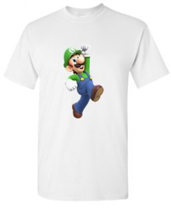 White Super Mario DH T Shirt