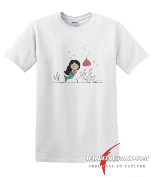 Fishing For Love Lady comfort T Shirt