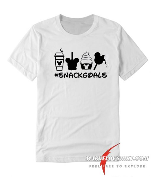 Snack Goals Disney comfort T Shirt