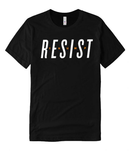 Resist Black comfort T Shirt